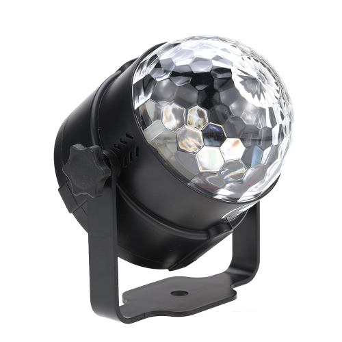 6W Mini-LED-RGB Mehrfarbige Magic Ball Licht Kleine bewegliche Ton aktivierte Portable USB Powered Lampe Disco-Stadiums-Effekt für KTV Club Bar-Party