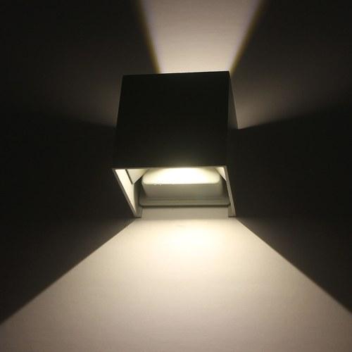 AC85-265V 12W светодиодный настенный светильник алюминиевый регулируемый угол наклона луча наружного