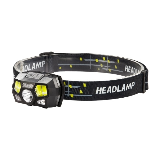 Portable USB Rechargeable LEDs Headlamp