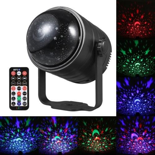 Luce a sfera da discoteca alimentata tramite USB con telecomando Altoparlante musicale BT Lampada da palcoscenico a LED con luce stroboscopica attivata