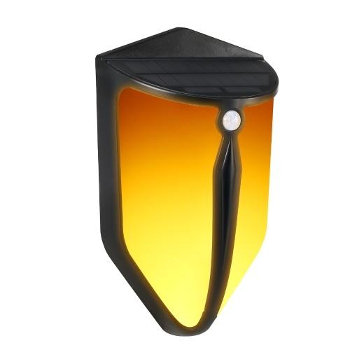 ソーラーフレームウォールライトIP652つの照明モード