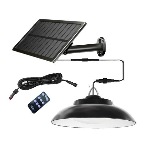 Солнечная лампа 2,5 Вт Солнечная панель 8 Вт Светодиодная лампа 48 Светодиодная лампа Индукционная настенная лампа из бисера Открытый дом Двор Гараж Садовая лампа