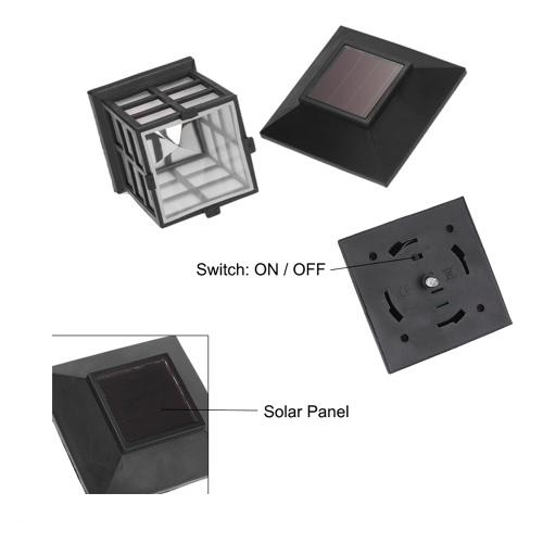 Accionada solar de la linterna LED