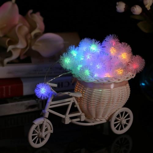 40LEDs batteriebetriebene Schneeball Halloween Party Dekoration String Light
