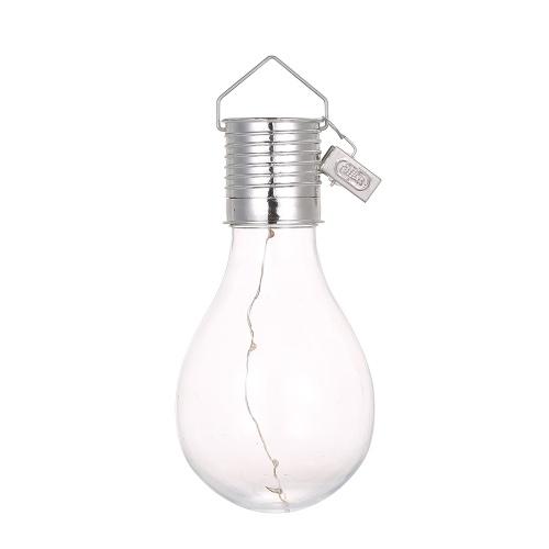 Solarbetriebene Energiesparlampe