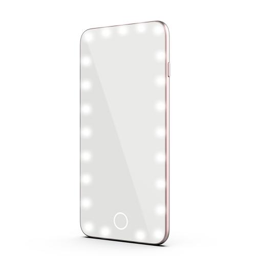 23LEDs 5.5in USB aufladbares Schminkspiegel-Licht mit empfindlicher Noten-Steuerung