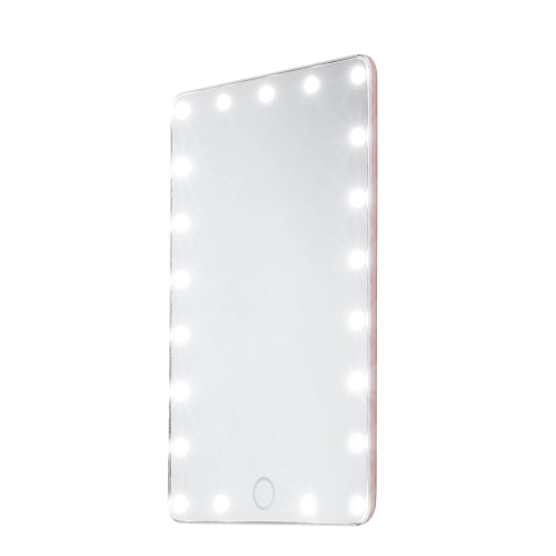 21LEDs 7.8in USB Rechargeable Vanity Mirror Light with Sensitive Touch Control