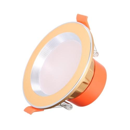 Встраиваемый потолочный светильник AC85-265V, 5 Вт, утопленный вниз