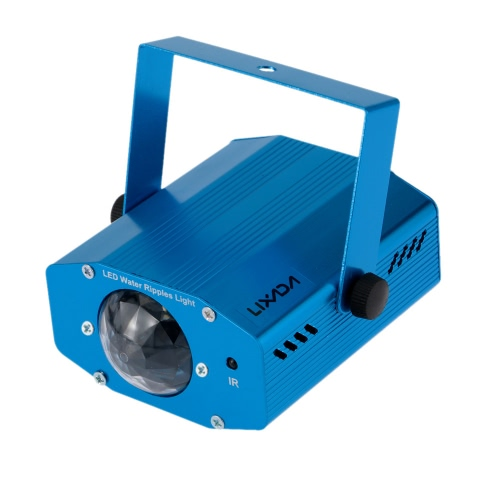 Cafago coupon: Lixada 9W RGBWColor Changing Mini LED Stage Light