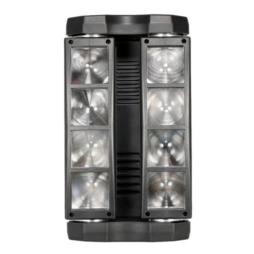 Lixada 80W RGBW Head Moving Rotatable LED Spider Beam Stage Light