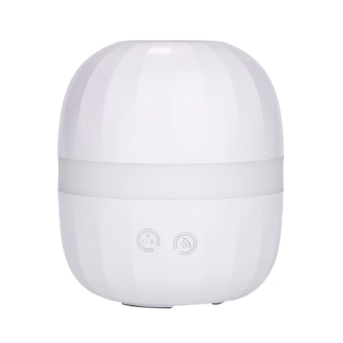Ultrasonic Aroma Diffuseur 100ml Air Humidifier LED Night Light ovale Huile Essentielle réglable Maker Mist Steam Fogger tactile Commutateur couleur Changing Room utilisation UK Plug Home Office enfants