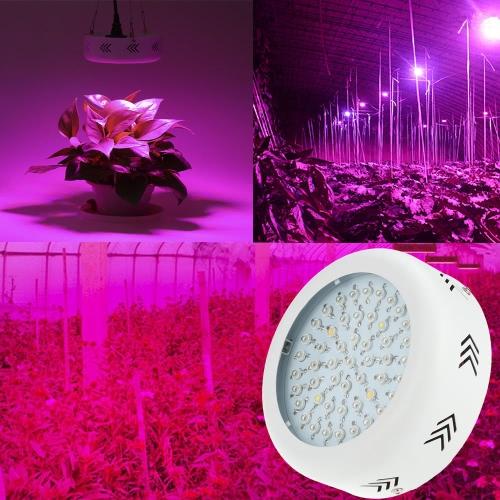 150W AC85-265V 50LEDs 15000LM Plant Grow Light Full Spectrum Vegetables Herbs Flowers Lamp Greenhouse Indoor Garden Hydroponic UK Plug