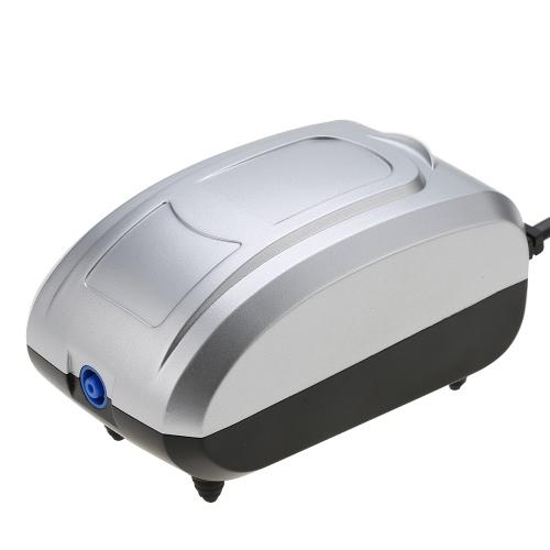 Fish Tank Aquarium 3W 3L/Min High Air Output Silent Oxygen Supply Pump for Bubble Curtain Light