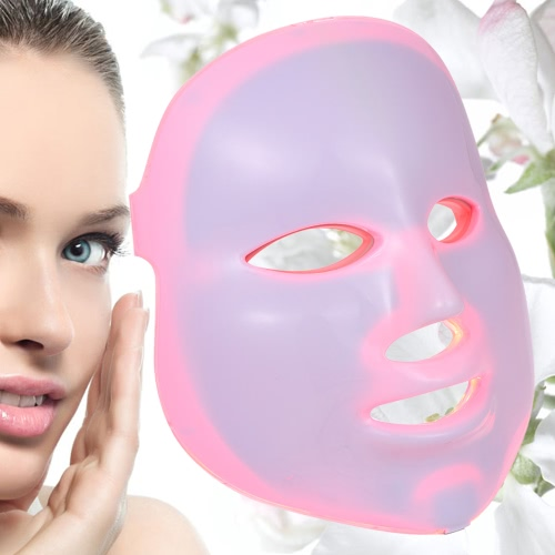 7 Couleurs 5 Niveaux Dimmable Temporisation PDT Facial Skin Care Home Use Photon Beauty Therapy Mask Lamp