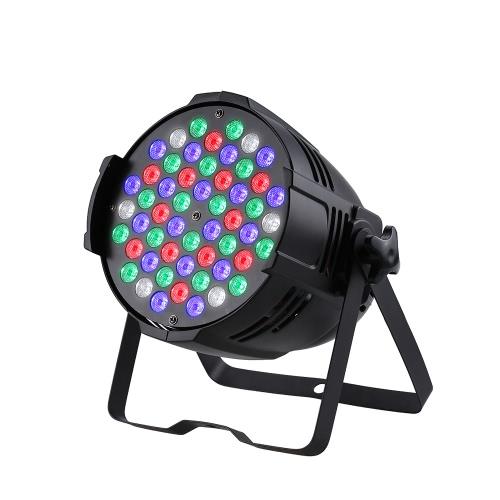 54 * 3WLED 8Channels luz de la etapa de la etapa del efecto del lavado del RGB