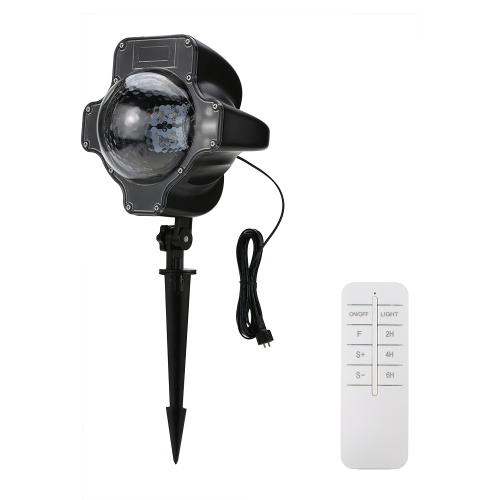 Tomshine LED Snowflake Proyector Light