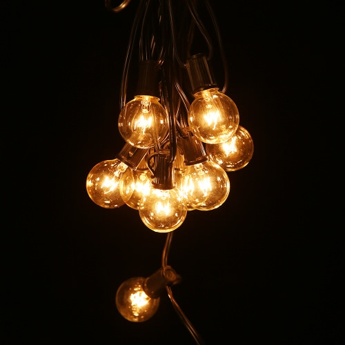 Globe Festoon String Light Bulb 27Ft G40 Indoor Outside Waterproof Lixada UPC/EAN: 602720105593