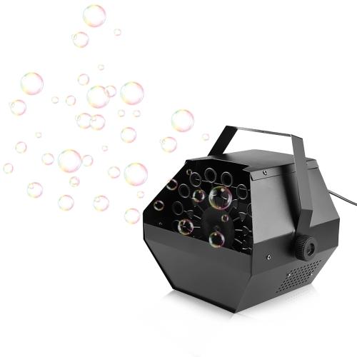 0.8L Mini High Output Automatische Portable Bubbles Maker Maschine