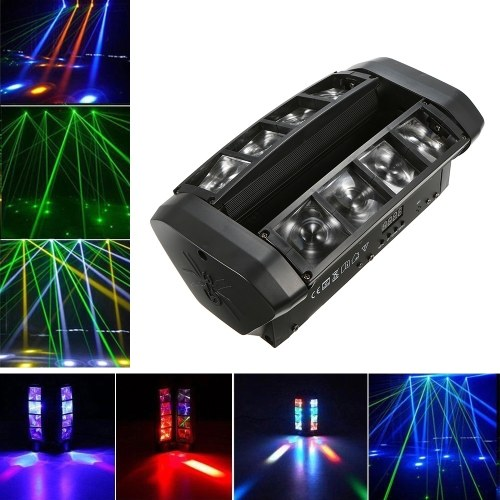 AC110-130V 60W RGBW 7 / 13 Channels LED Stage Light Lighting Fixture