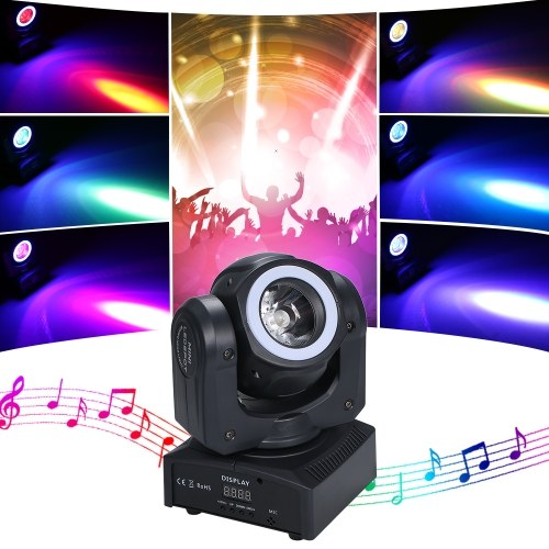 Lámpara de haz de escenario giratorio AC90-240V 60W 13 LEDs