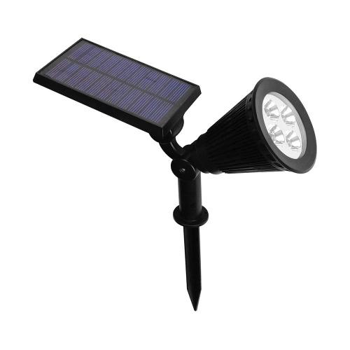4 LED Solar RGB Light Spotlight Adjustable Lawn Light