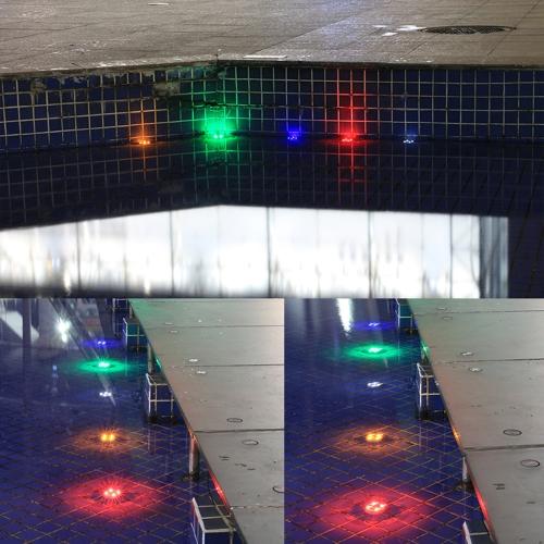 Solar Powered 4Colors LED Landscape Buried Light