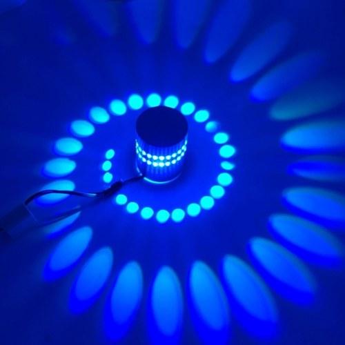 AC85-265V 3W Светодиодная настенная лампа с дистанционным управлением