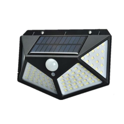 100Leds 1200 Mah Solar Lights Outdoor Solar Powered Motion Sensor Lights
