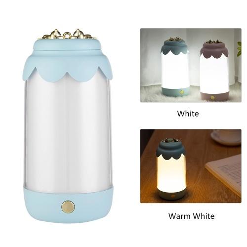 Led Night Light USB Rechargeable Table Lamp Reading Light Bedside Desk Lamp for Living Room Bedroom