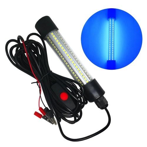 AC / DC 12-24V 13W LED Aquarium Licht Fischglas Sammellampenrohr Design Tragbare IP68 Wasserbeständigkeit für Fischfarm im Freien