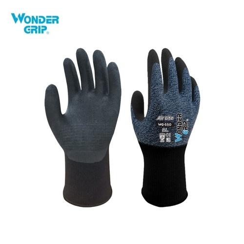Wonder Grip Luvas de Jardinagem à prova de Abrasão 15-Gauge Nylon Liner & Revestimento de Nitrilo Luvas de Trabalho Universal