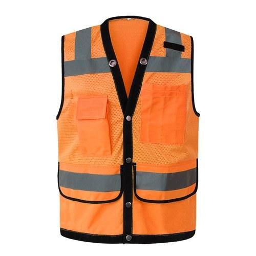Roupa de trabalho reflexiva da segurança do Workwear da veste da segurança