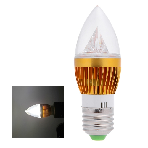 E27 6W LED Candle Light Bulb Chandelier Lampen Scheinwerfer High Power AC85-265V