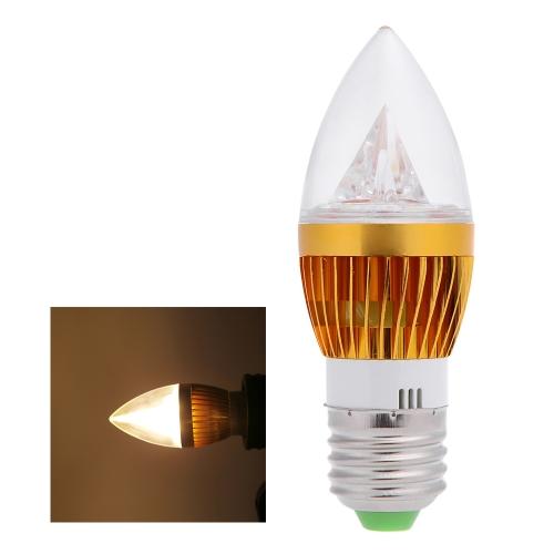 E27 6W LED Candle Light Bulb Chandelier Lamp Spotlight High Power AC85-265V