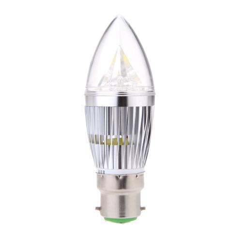 B22 10W LED Candle Light Bulb Chandelier Lamp Spotlight High Power AC85-265V