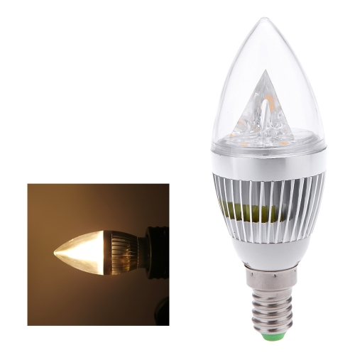 E14 6W LED Candle Light Bulb Chandelier Lamp Spotlight High Power AC85-265V