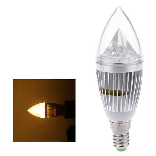 E14 10W светодиодные свечи лампы люстра лампа Spotlight высокой мощности AC85-265V