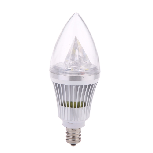 E12 6W LED Candle Light Bulb Chandelier Lamp Spotlight High Power AC85-265V