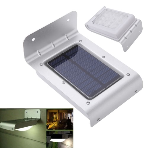 Solar Power Human Body Sensitive Motion Sensor Light Home Garden Security Lamp