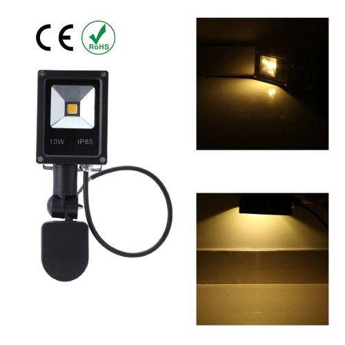 10W  LED Flood Light 85~265V  PIR Motion Sensor Induction Sense Lamp Water-resistant Environmental-friendly for Pathway Outdoor Stair Step  Garden Yard