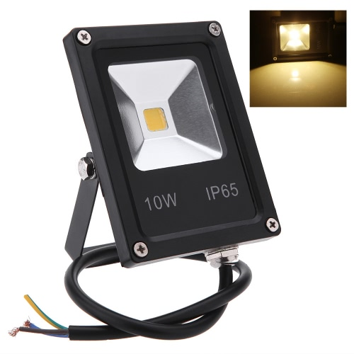 Ультратонких 10W 85-265V прожектор светодиодный прожектор IP65 водонепроницаемый экологическо благоприятный для открытый путь сад двор теплый белый/белый/RGB
