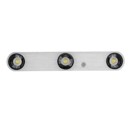 6W 85-265V AC Modern Simple Aluminum LED Wall Lamp