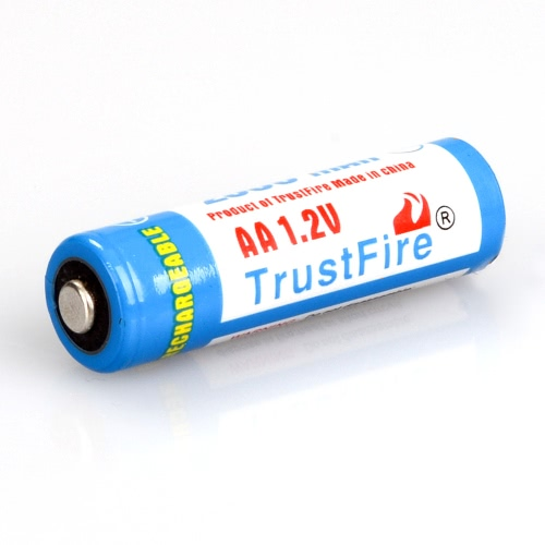 TrustFire Rechargeable 4pcs AA 14500 Batteries 2700mAh NI-MH 1.2V with Storage Case