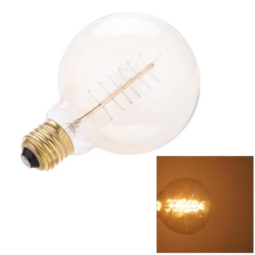 Lixada   E27 40W Filament ancien décoratif Filament Edison lumière  Ampoule antique Art Lampe 220V