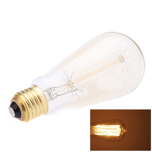 40W E27 Decorative Vintage Filament Edison Light Antique Bulb Art Lamp 220V