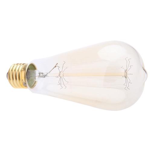 Vintage Edison luz antigua bombilla