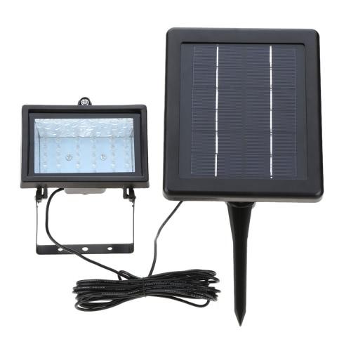 Solar Powered Light Sensor Lamp