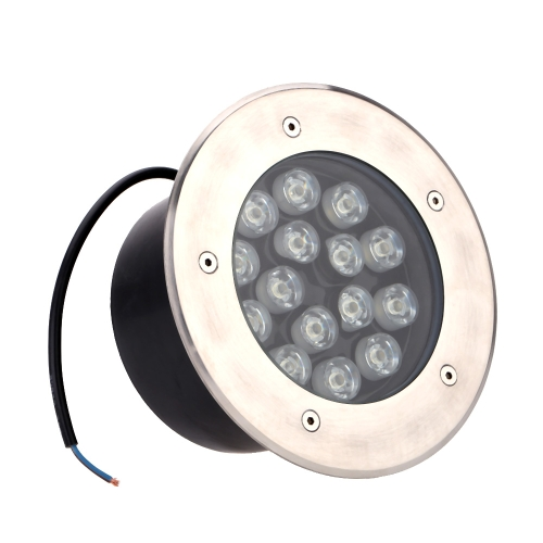 15W LED Outdoor Ground Garden Path Floor Underground Buried Yard Lamp Spot Landscape Light IP67 Waterproof AC 85-265V