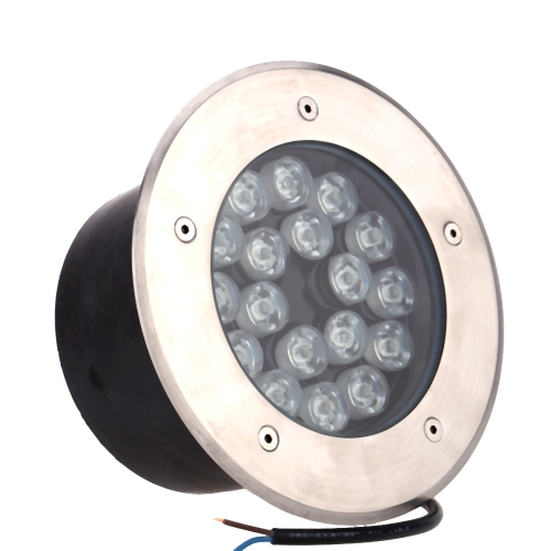 18W LED Outdoor Ground Garden Path Floor Underground Buried Yard Lamp Spot Landscape Light IP67 Waterproof AC 85-265V