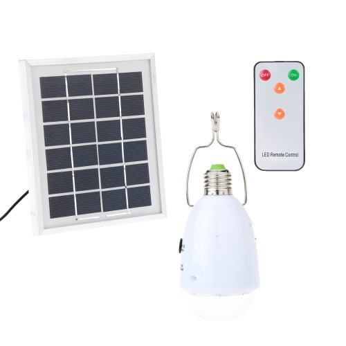 Solar Panel Powered LED USB Rechargeable Emergency Lamp Lighting Kits